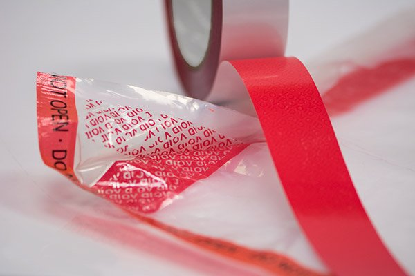 Double sided tamper tape